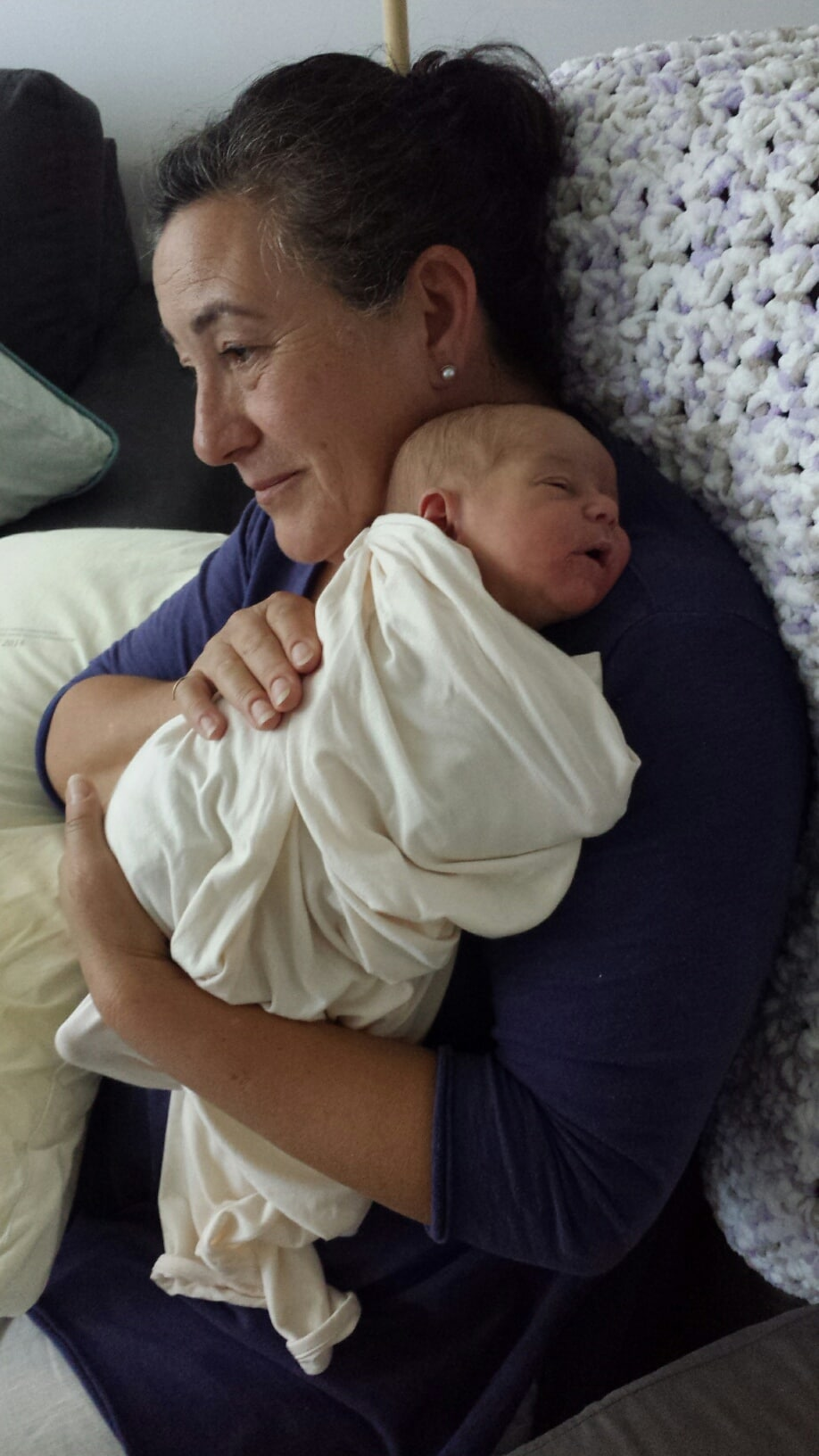 Positive birth story Jane and Asher